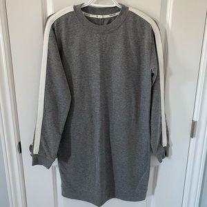 Garage Grey Sweater Dress